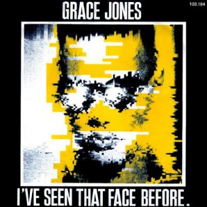 Grace Jones Face Before