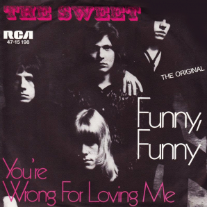 The Sweet - Funny Funny